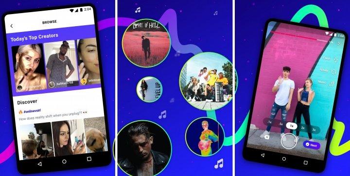 Imagen - Lasso, la app de vídeos cortos de Facebook que imita a TikTok