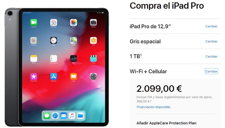 Imagen - El iPad Pro nuevo con la mejor configuración cuesta más de 2.000 euros