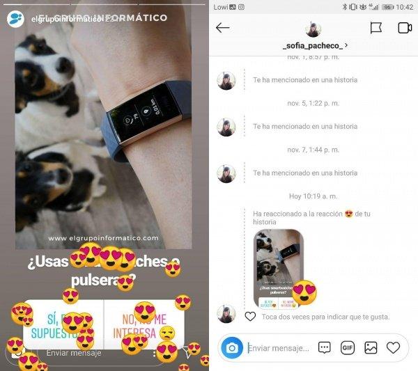 Imagen - Las reacciones llegan a los Stories de Instagram