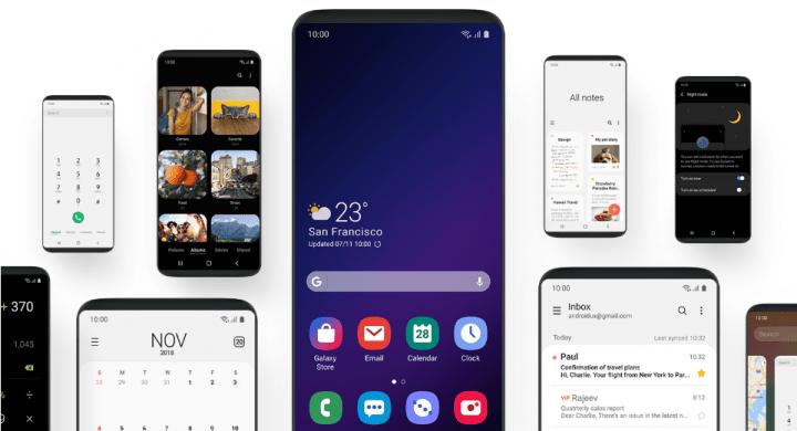 Imagen - Samsung One UI, la nueva interfaz minimalista para Android