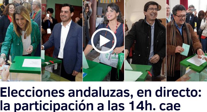 Imagen - Cómo seguir las elecciones de Andalucía online