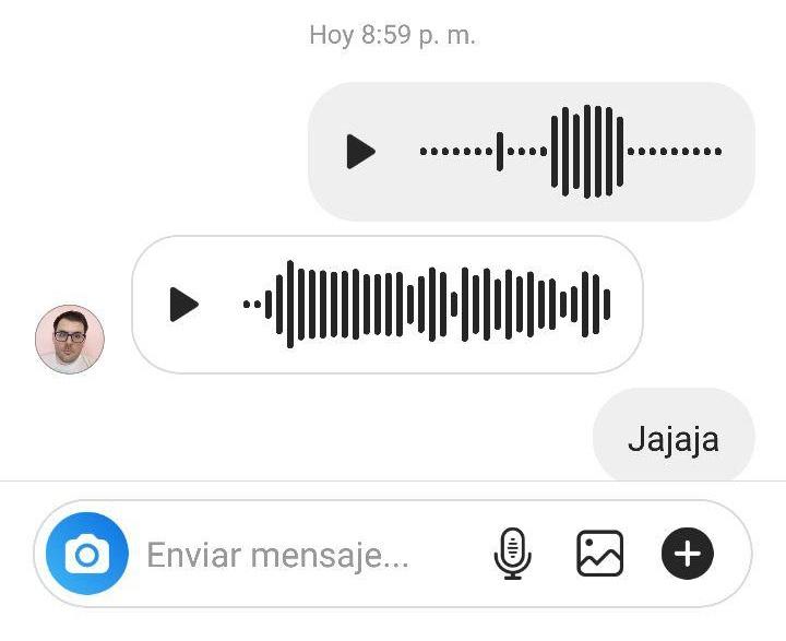 Imagen - Los audios han llegado a Instagram Direct