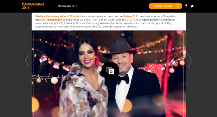 Imagen - Cómo ver online las Campanadas 2019