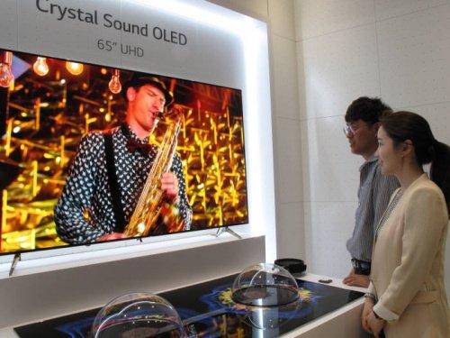 Imagen - Samsung prepara pantallas con altavoces bajo el propio panel