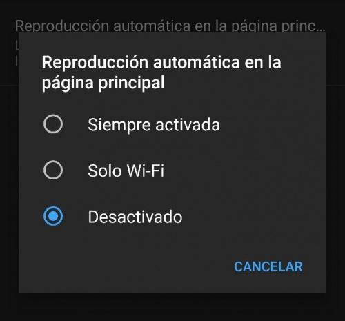 Imagen - YouTube reproduce los vídeos automáticamente mientras navegas por su feed