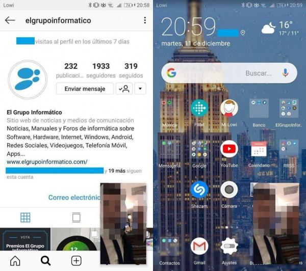 Imagen - Instagram permite seguir viendo los directos incluso fuera de su app