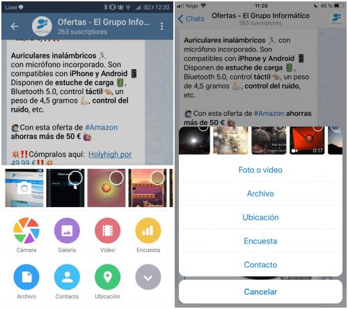 Imagen - Telegram para iOS y Android se actualiza para incluir encuestas