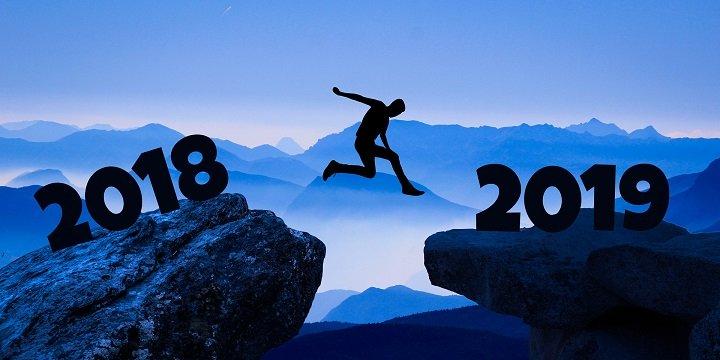 Imagen - 20 GIFs para felicitar el 2019 por WhatsApp