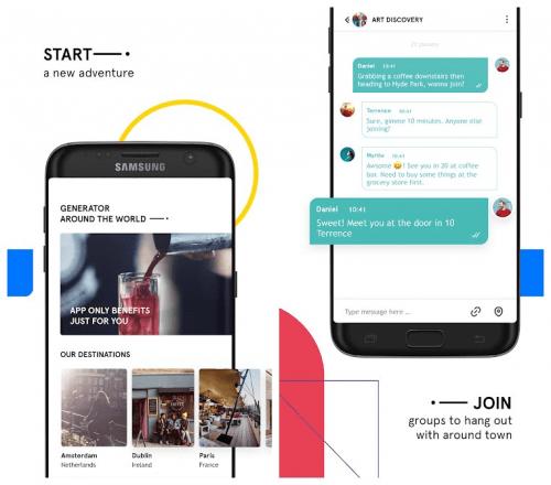 Imagen - GenFriends, una app estilo Tinder para conocer gente al viajar