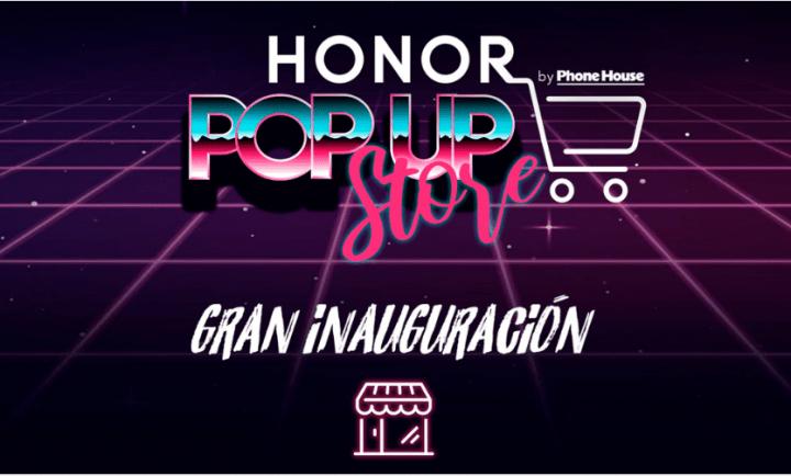 Imagen - Honor Pop Up Store, las primeras tiendas de la marca llegan a Madrid, Barcelona y Zaragoza