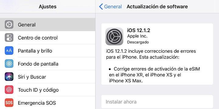 Imagen - iOS 12.1.2 causa problemas de conectividad en el iPhone
