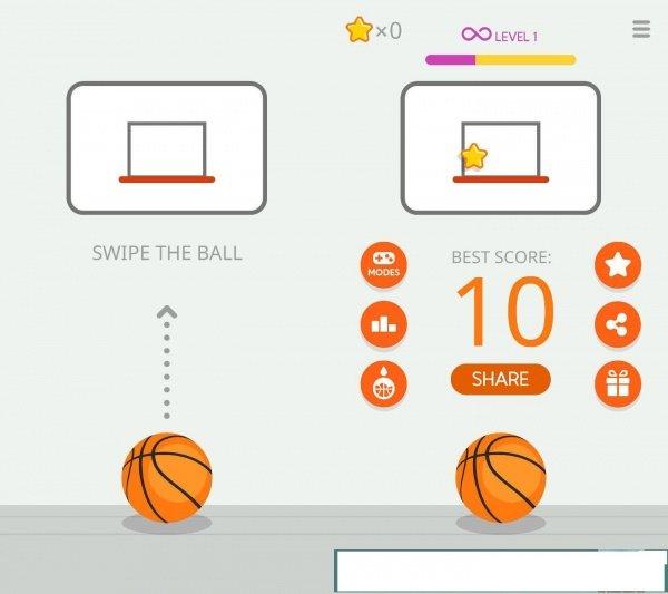 Imagen - Ketchapp Basketball, un simple juego de canastas para Android