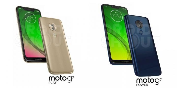 Imagen - Moto G7, G7 Plus, G7 Power y G7 Play se filtran en imágenes