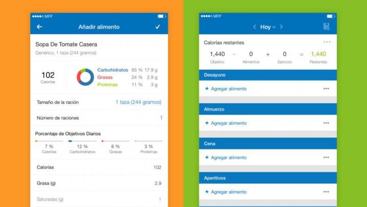 Imagen - MyFitnessPal, la app fitness para contar calorías y ejercicios