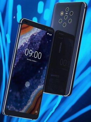 Imagen - Nokia 9 PureView se filtra en imágenes: 5 cámaras traseras y lector de huellas en pantalla