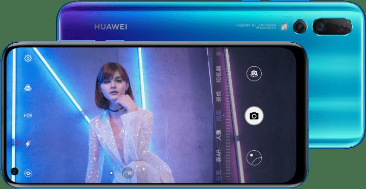 Imagen - Huawei Nova 4 es oficial: cámara selfie incrustada y trasera con 3 sensores
