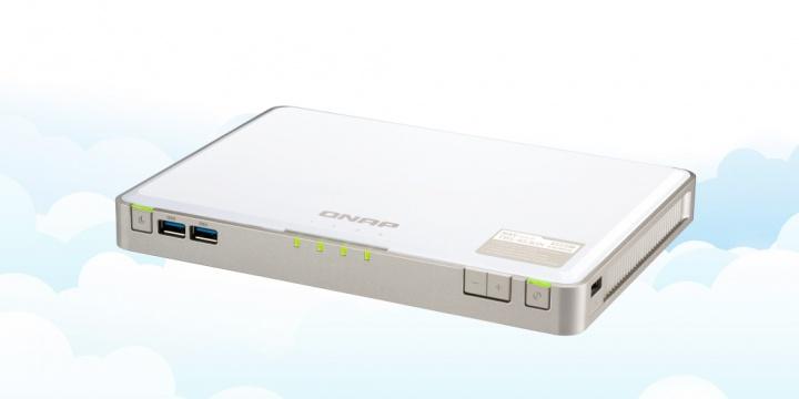 QNAP TBS-453DX, el NASbook con ranuras SSD SATA M.2 y caché de archivos en la nube