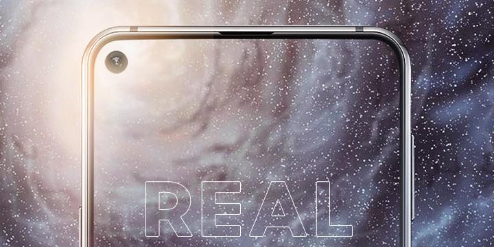 Samsung Galaxy A8s es oficial: cámara selfie en la pantalla y triple cámara trasera