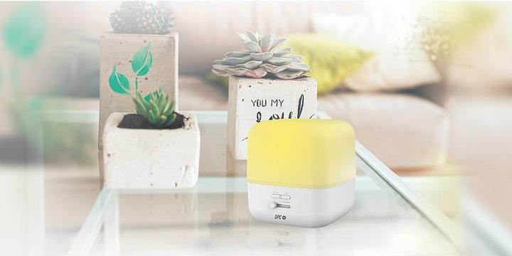 SPC Nerta, un difusor de aromas con iluminación LED controlable desde el móvil