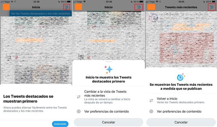Imagen - Twitter para iOS ya permite ver tweets en orden cronológico