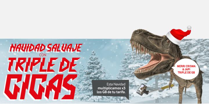 Imagen - Vodafone Yu regala 10 GB de datos por Navidad