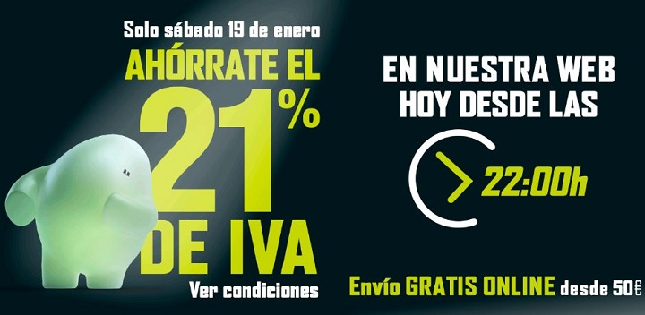 Imagen - El Corte Inglés lanza su Día sin IVA hasta el 19 de enero