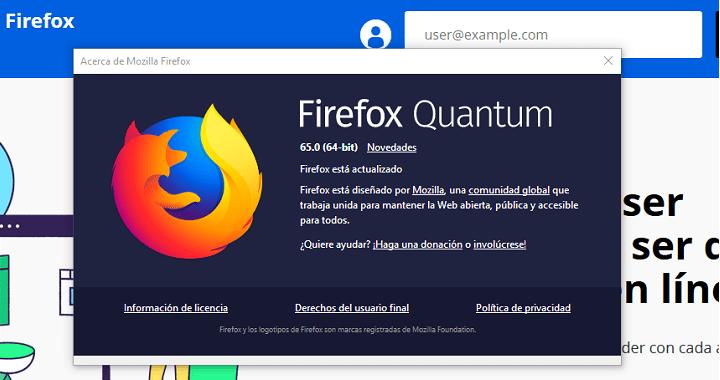 Imagen - Descarga Firefox 65 con mejoras en el sistema de rastreo y pequeñas novedades