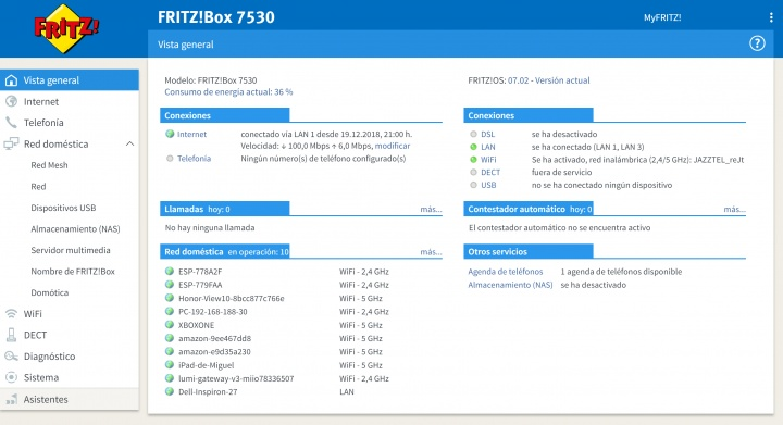 Imagen - Review: FRITZ!Box 7530, un router completo con WiFi potente, soporte mesh y domótica