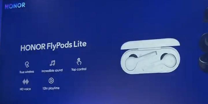 Honor FlyPods Lite, auriculares inalámbricos con estuche de carga y 12 horas de autonomía