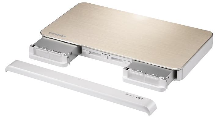 Imagen - QNAP HS-453DX, un NAS potente: silencioso, conectividad 10 GbE y almacenamiento híbrido