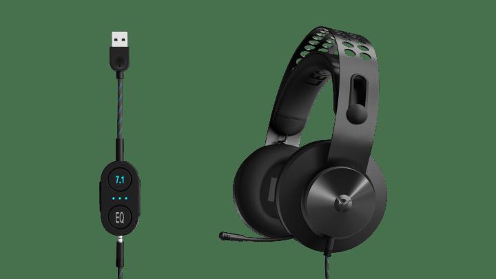 Lenovo Legion H500 Pro 7.1 y H300, los nuevos auriculares gaming con sonido envolvente