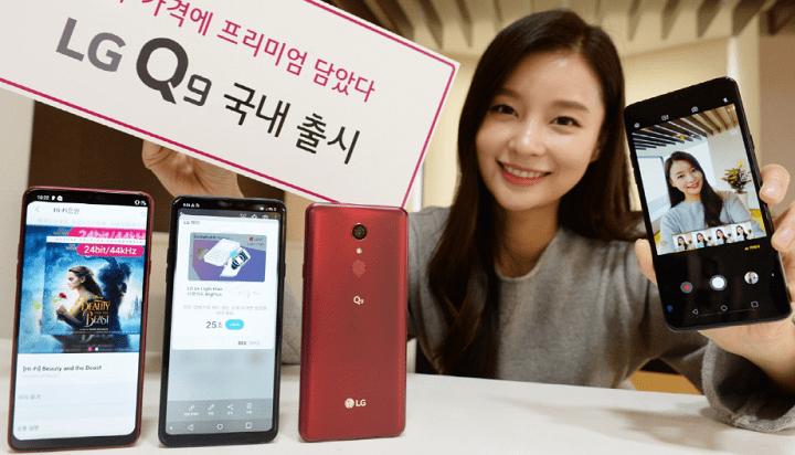 Imagen - LG Q9, el nuevo smartphone de gama media con notch y pantalla de 6,1 pulgadas