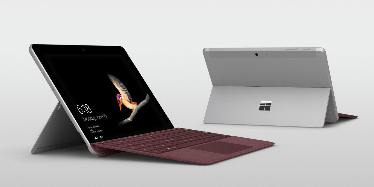 Oferta: Microsoft Surface Go con funda teclado y lápiz táctil por 110 euros menos