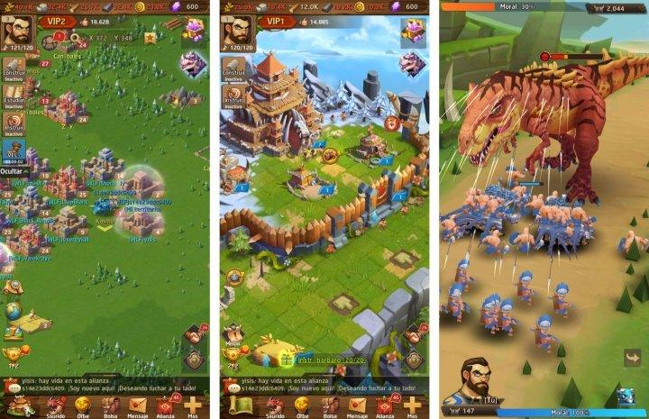 Imagen - Descarga Primal Wars: Dino Age, un juego de batalla con multijugador online