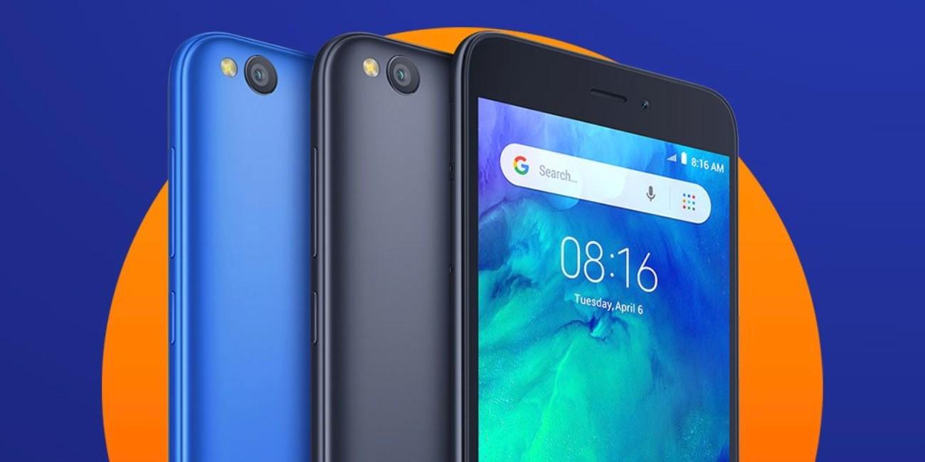 Redmi Go es oficial, un smartphone básico con batería de 3.000 mAh y Android Go
