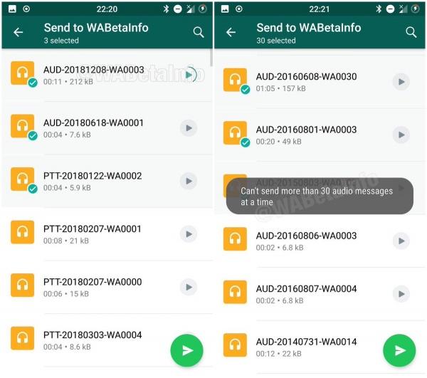 Imagen - WhatsApp prepara una sección completa para los audios
