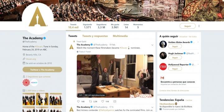 Imagen - Cómo ver los Oscar 2019 online
