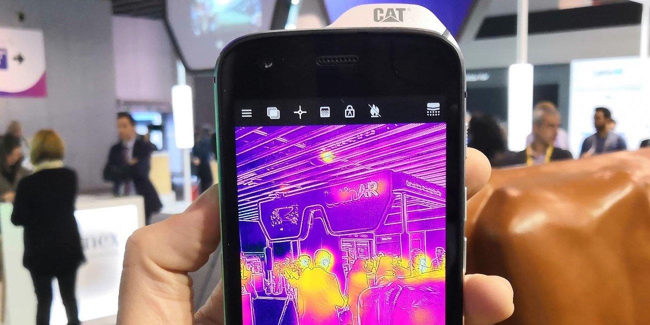 CAT S61, el móvil profesional con sensor de temperatura, calidad del aire y distancia
