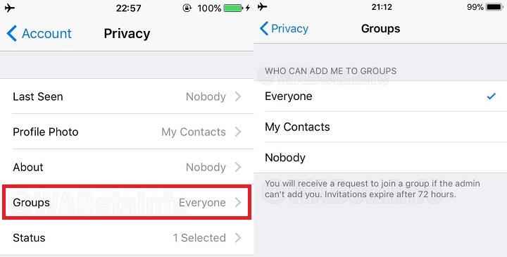 Imagen - WhatsApp pedirá una confirmación cuando nos añadan a un grupo