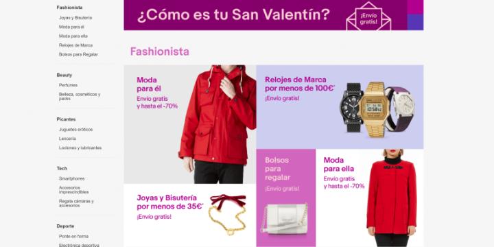 Imagen - 7 webs donde encontrar ofertas para San Valentín