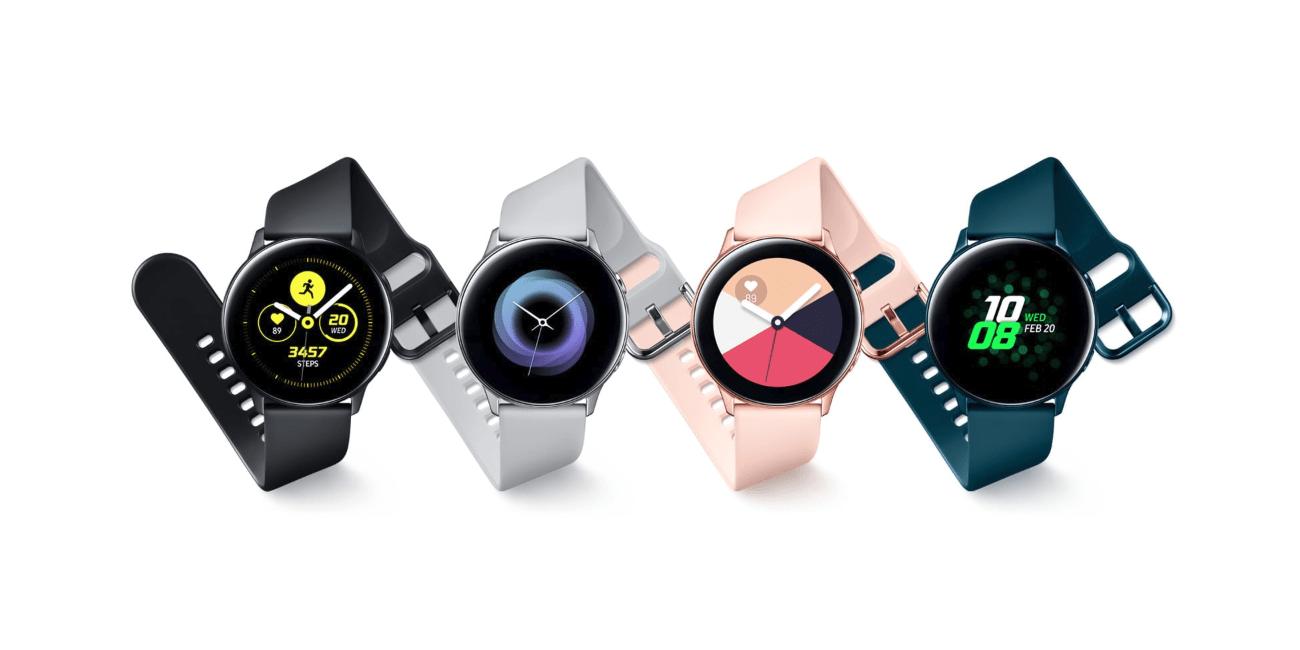 Galaxy Watch Active: esfera de 40 mm, resistencia al agua y batería para 2 días