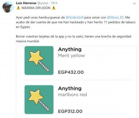 Imagen - Glovo habría sufrido un hackeo: los usuarios denuncian compras no autorizadas