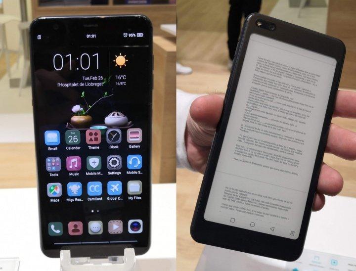 Imagen - Hisense A6, el smartphone con pantallas AMOLED y de tinta electrónica