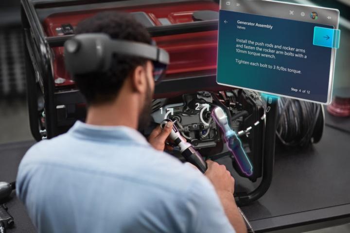 Imagen - Nuevas HoloLens 2: mejor rendimiento y confort para la realidad mixta de Microsoft