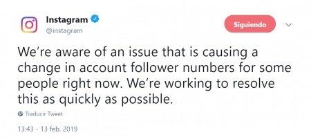 Imagen - Instagram comienza a eliminar seguidores