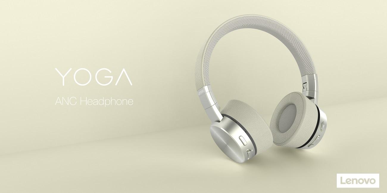 Lenovo Yoga ANC Headphones, los auriculares con cancelación de sonido y diseño premium
