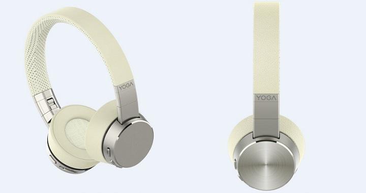 Imagen - Lenovo Yoga ANC Headphones, los auriculares con cancelación de sonido y diseño premium