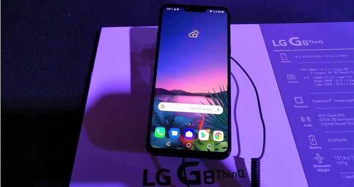 Imagen - LG G8 ThinQ y G8s ThinQ llegan con un sistema de desbloqueo con las venas de las manos