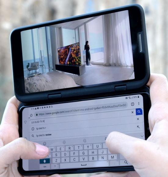 Imagen - LG V50 ThinQ 5G: Snapdragon 855, 6,4 pulgadas y versión con doble pantalla