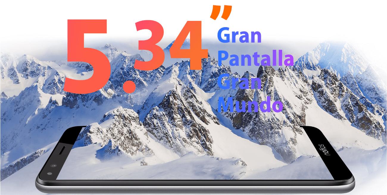 Neffos C5 Plus, el nuevo smartphone con batería de 2.200 mAh y Android Go